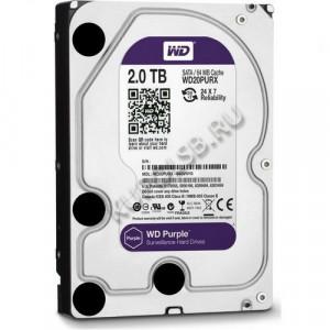 Жесткий диск WD Purple WD20PURX 2Тб