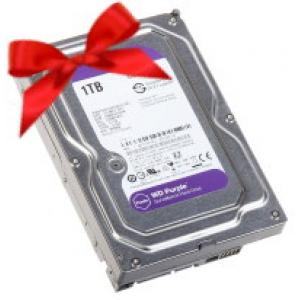 Дарим жесткий диск при покупке комплекта видеонаблюдения>