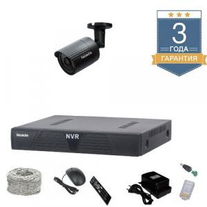 Комплект HD видеонаблюдения на 1 уличную камеру 1UHDF