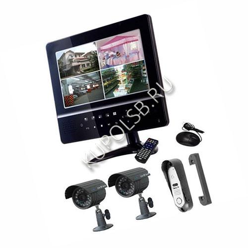 FE-924KIT 1 панель и 2 камеры