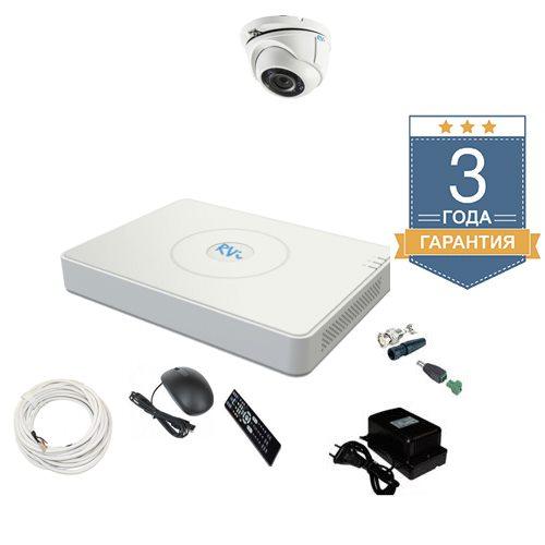 Комплект видеонаблюдения на 1 камеру TVI1FULLHD