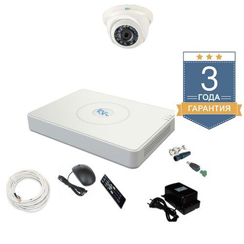 Комплект видеонаблюдения на 1 камеру TVI1HD