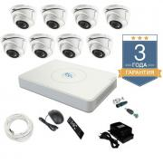 Комплект видеонаблюдения на 8 камер TVI8FULLHD