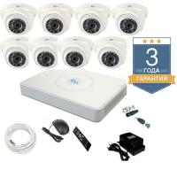 Комплект видеонаблюдения на 8 камер TVI8HD