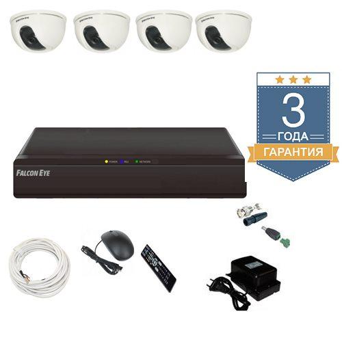 Комплект видеонаблюдения на 4 камеры АН4