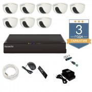 Комплект видеонаблюдения на 8 камер АН8